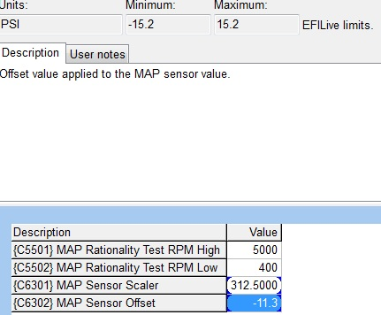 ZR1 Map VE Scaling