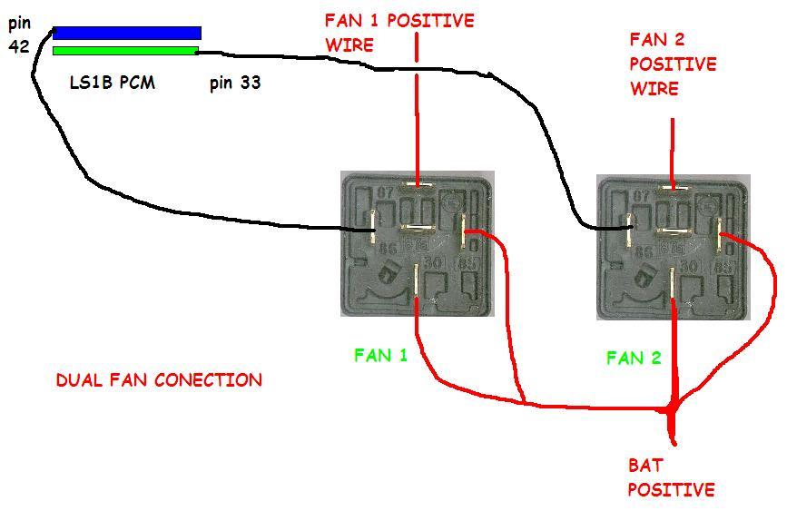 dual fan relay wiring diagram dual auto wiring diagram ideas dual fan relay wiring diagram diagram on dual fan relay wiring diagram