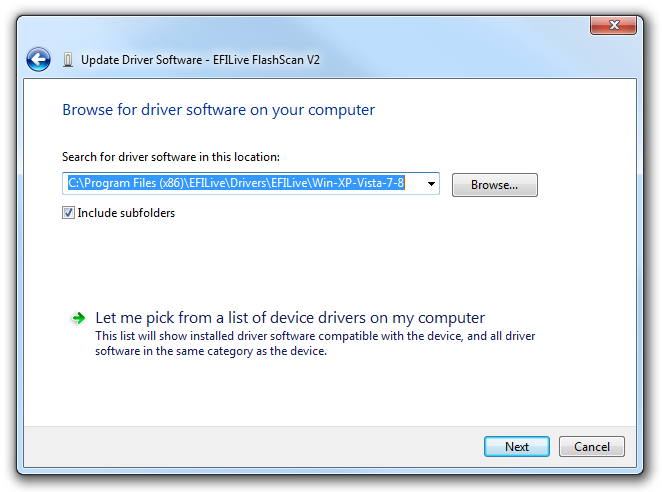 Uninstalling and reinstalling FlashScan/AutoCal USB drivers