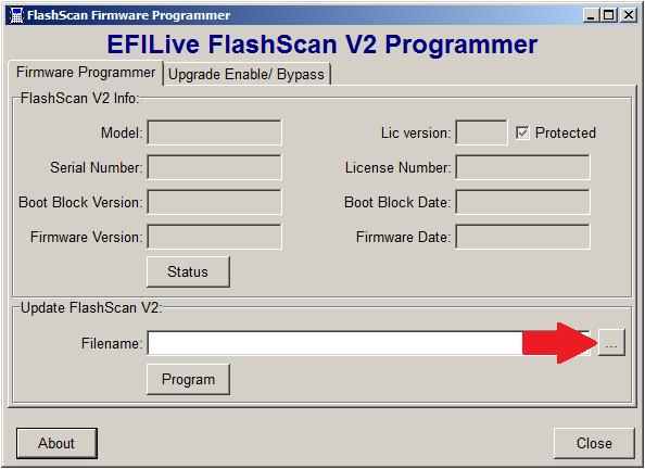 Updating Flashscan firmware from older version - Duramax